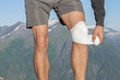 Caring for knee injury