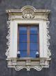 canvas print picture - Old sicilian window