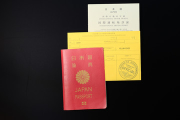 Passport, Yellow-card, National driver's licence of Japan