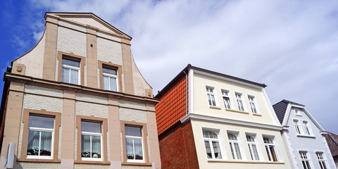 AURICH ( Ostfriesland ) - Stadtpanorama