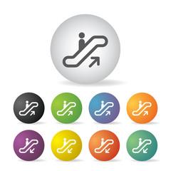 stairway symbol set