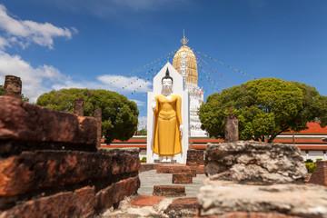 Wat Phar Sri Rattana Mahathat. Temple, Phitsanulok in Thailand