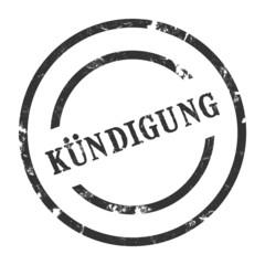 sk16 - StempelGrafik Rund - Kündigung - g1436