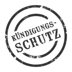 sk17 - StempelGrafik Rund - kündigungsschutz - g1437