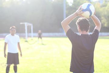 touche en football