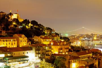 The lights of Lisbon