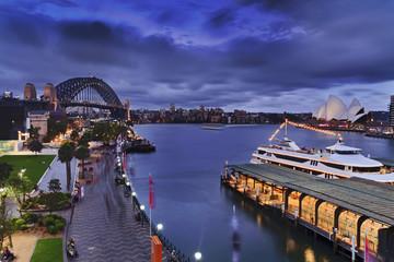 Sydney Circular sunset walk