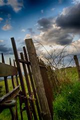 Vieille barrière