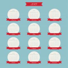 Calendar for 2015.