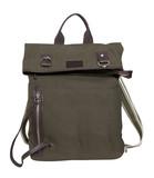 brown handbag isolated on white