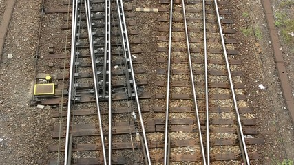 railway line - shot from above