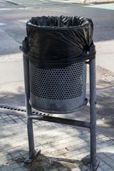 street Dust-bin