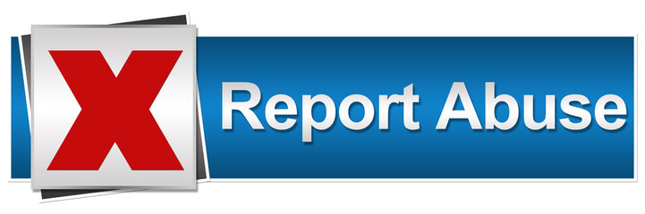 Report Abuse Button Style