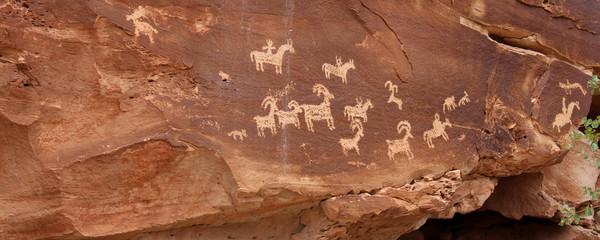 Pétroglyphes - Arches National Park (Utah)