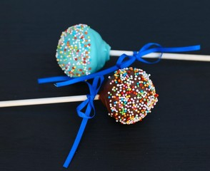 Orange Flavoured Chocolate Cake Pops