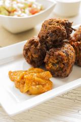 Indian Cuisine - Onion Bhaji