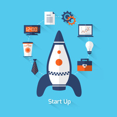 Start up illustration