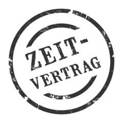 sk35 - StempelGrafik Rund - Zeitvertrag - g1455