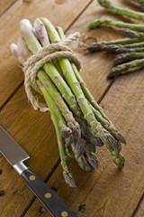 Fresh cut seasonal asparagus