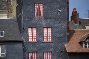 Schieferhaus in Honfleur