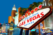 Welcome to Las Vegas neon sign - 69494467