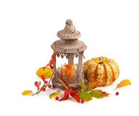 Herbst - Dekoration - Halloween - Freisteller