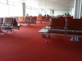 Salle d embarquement à l aéroport