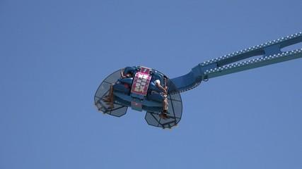 Spinning, Amusement Park Rides, Fun, Leisure