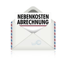 Brief Nebenkostenabrechnung
