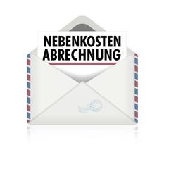 Brief Nebenkostenabrechnung