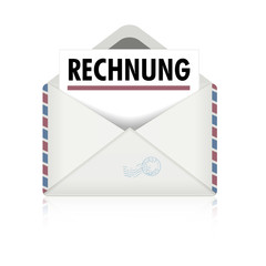 Brief Rechnung