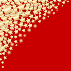 Sterne Hintergrund rot