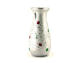 Decorative vase for flowers. Isolated object on white background
