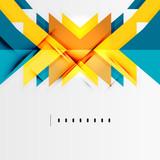 Fototapety Futuristic geometric shapes, minimal design
