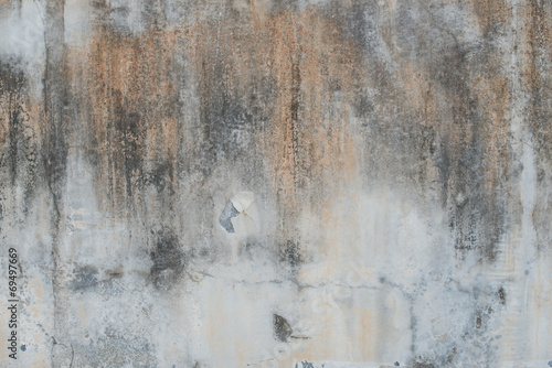 canvas print picture Grunge concrete cement rough wall in industrial building