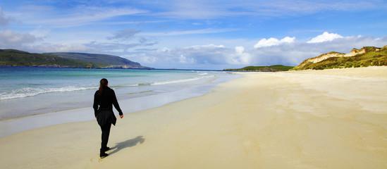 Strand in Schottland