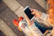 using smart phone - 69498662