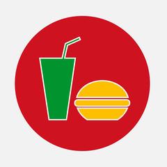 Fast Food. Vector Illustration