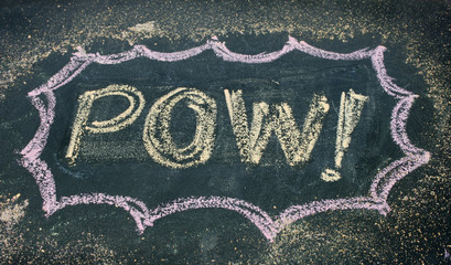 the word pow