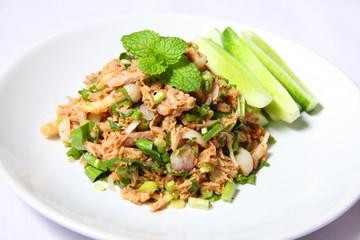 Tuna spicy salad