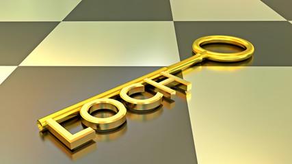 Schlüssel Loch