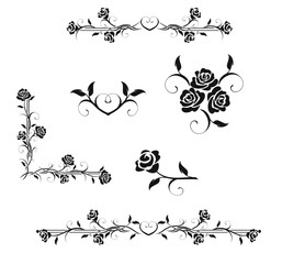 Винтаж из роз