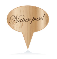 Holz  Natur pur