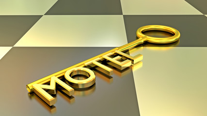 Motel Schlüssel