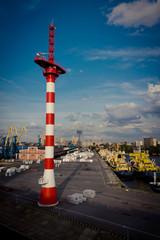 портовый маяк