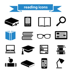 reading icons