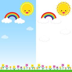 Sun Rainbow and Cloud 001