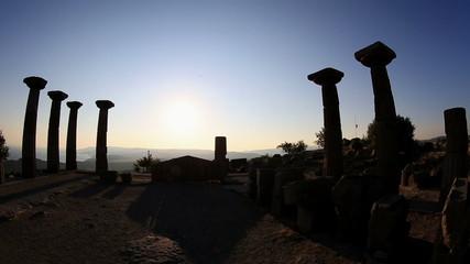 Temple of Athena  Ancient Assos City at Turkey