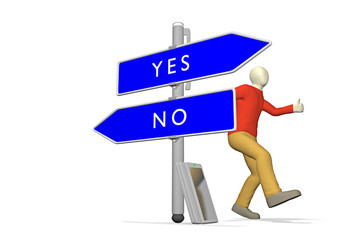 YES <> NO