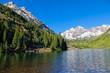 Summer at Maroon Bells Aspen Colorado